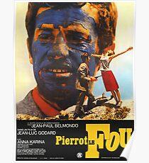 Pierrot le Fou - Il bandito delle ore undici - Jean Luc Godard Poster