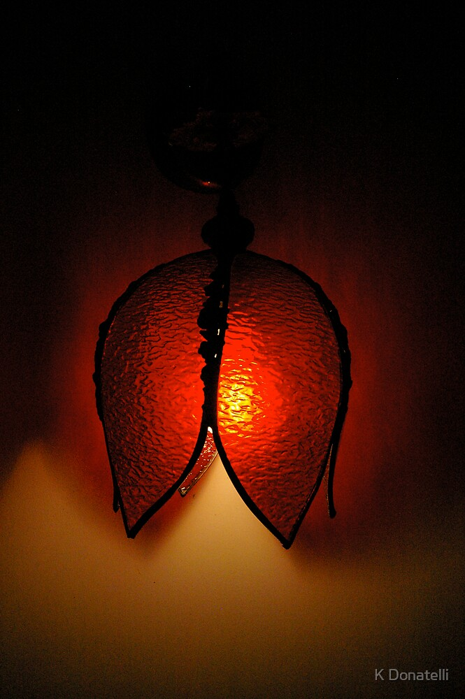 Hotel Light (Red) by K Donatelli