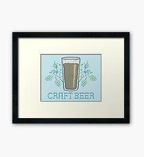 Craft Beer Framed Print