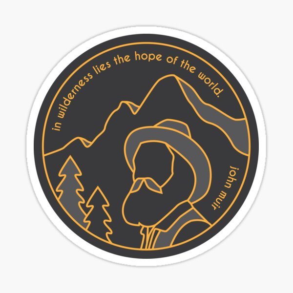 In Wilderness Lies Hope Sticker