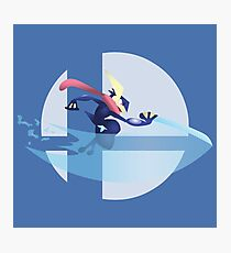 Super Smash Bros. — Greninja Photographic Print