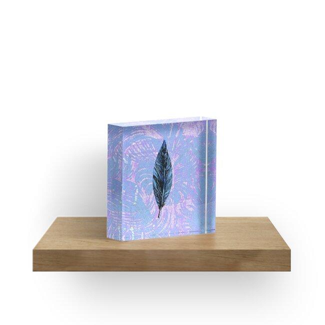 Purple Enchanting Feather by missmann