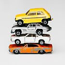 4 Toy Cars by Bethany Helzer