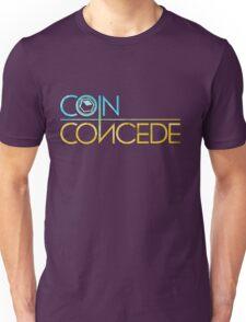 Coin Concede logo gear Unisex T-Shirt