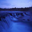 Moonlight falls by Tony Middleton