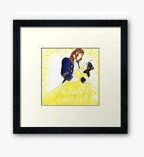 AusHun Beauty and the Beast Framed Print