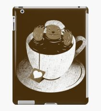 Monday Bath Sloth Coffee iPad Case/Skin