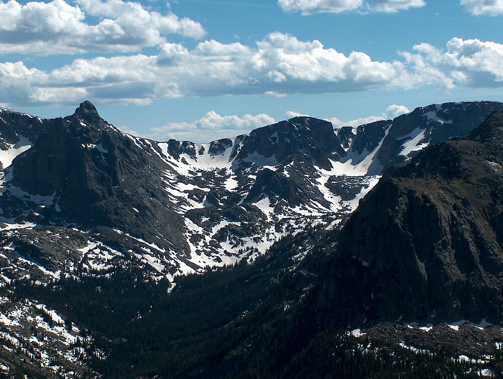 RMNP never summer range by stephenmakesart