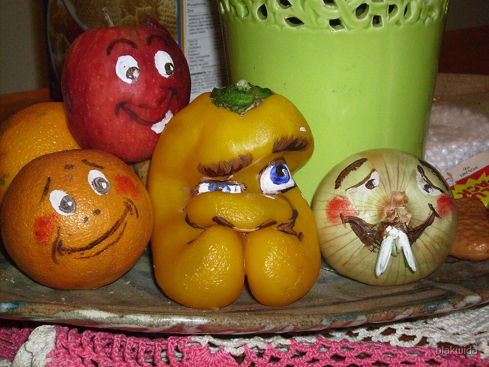 the veggie family by blakwida