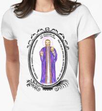 Saint Germain Alchemist Patron of Magick & Transformation Womens Fitted T-Shirt