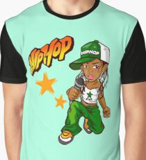 Hip Hop Lady Graphic T-Shirt
