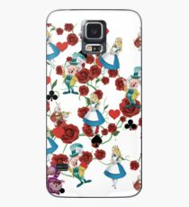 Alice in floral  Case/Skin for Samsung Galaxy