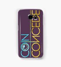 Coin Concede logo phone cases Samsung Galaxy Case/Skin