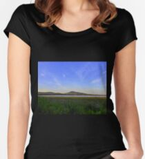 Scalp Mountain...........................Donegal Women's Fitted Scoop T-Shirt