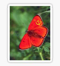 Ussr Soviet Butterfly Sticker