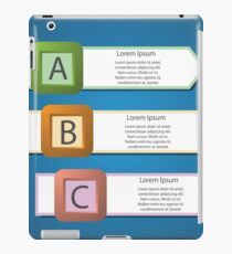 info graphic arrows structure iPad Case/Skin