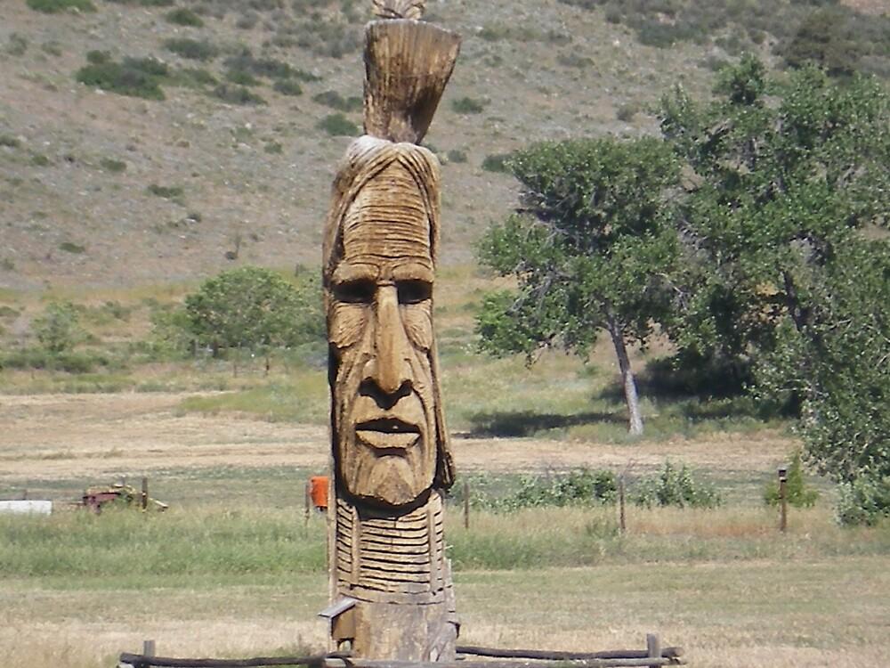 Indian Sculpture by stephenmakesart