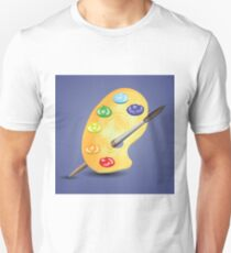 paint and brush Unisex T-Shirt