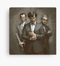 The Government, The Soldier and the Consulting Detective Canvas Print