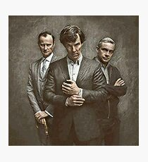 The Government, The Soldier and the Consulting Detective Photographic Print