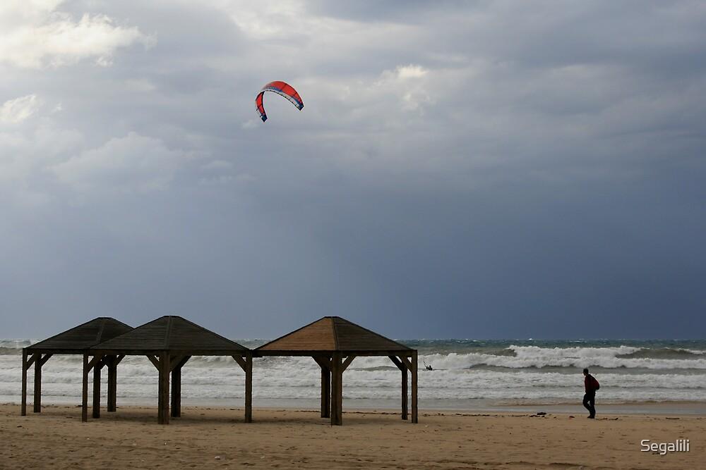 Tel-Aviv Beach by Segalili