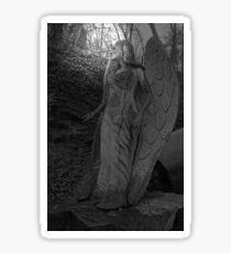 Angel Sculpture Sticker