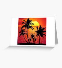 sunset1 Greeting Card
