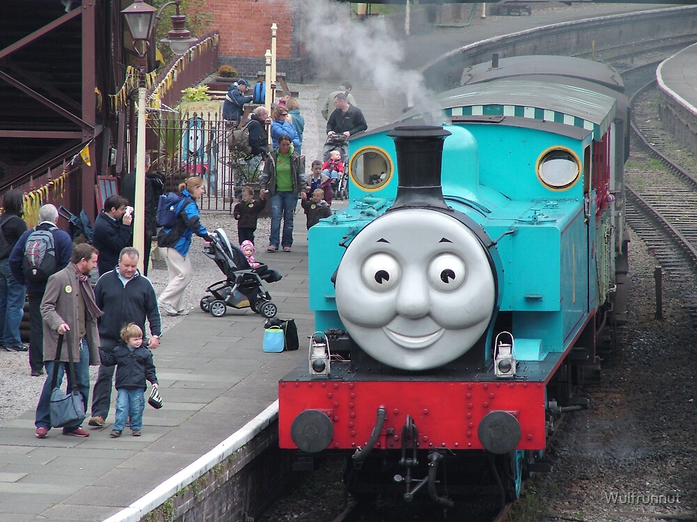 Thomas at Llangollen by Wulfrunnut