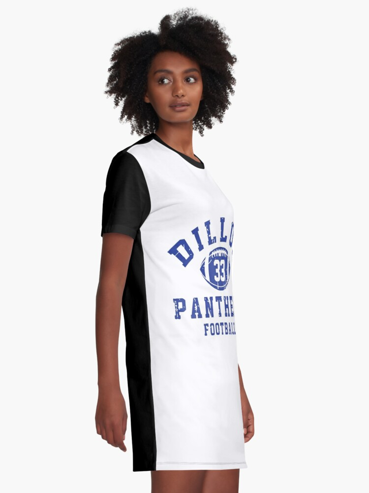 Vista alternativa de Vestido camiseta Dillon 33 Panthers Football