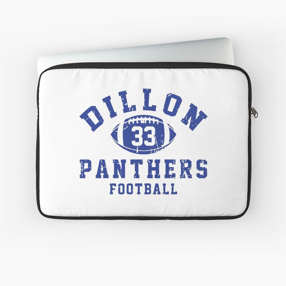Dillon 33 Panthers Football Funda para portátil