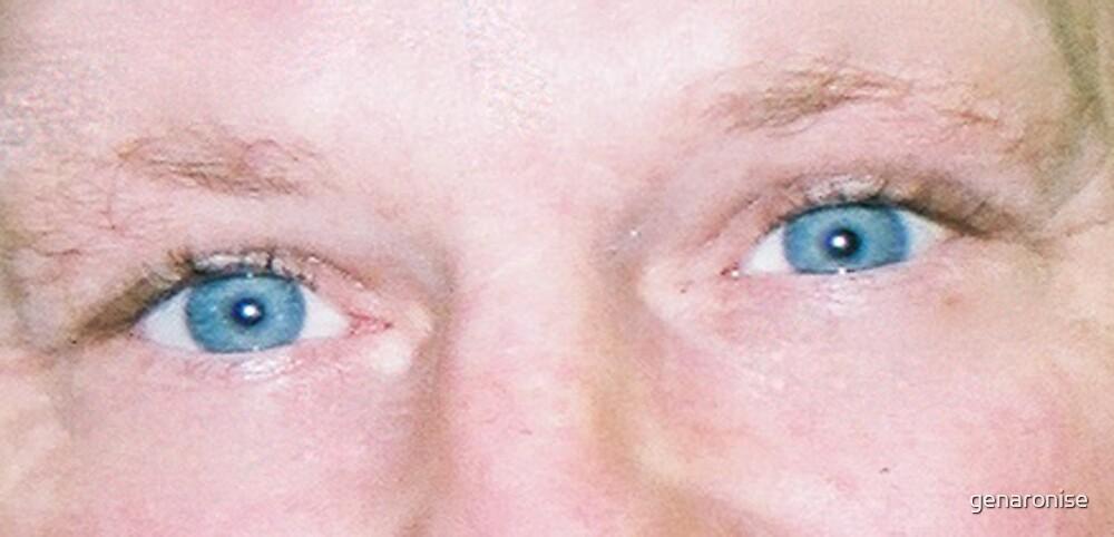 his eyes by genaronise