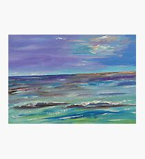 Colorful waves Photographic Print