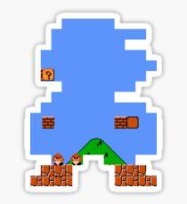 Super Mario Pixel Art Sticker