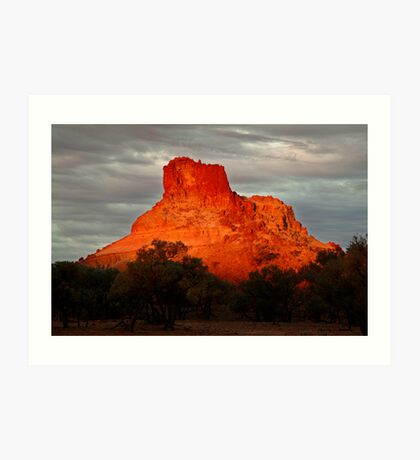 Goyder's Pillar, North Simpson Desert Art Print