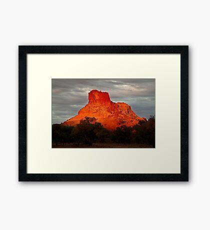 Goyder's Pillar, North Simpson Desert Framed Print