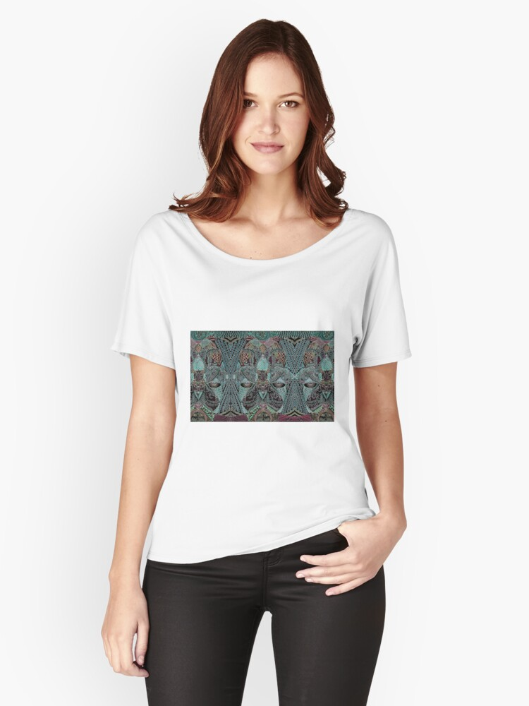 Vesica Piscis Women's Relaxed Fit T-Shirt Front