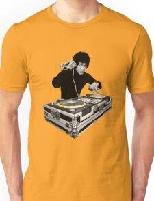 Bruce Lee - Gold Decks Scratch Unisex T-Shirt