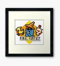 Final Fantasy bits Framed Print