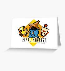 Final Fantasy bits Greeting Card