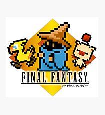 Final Fantasy bits Photographic Print