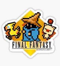 Final Fantasy bits Sticker