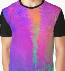 Psychedelic Forest Graphic T-Shirt