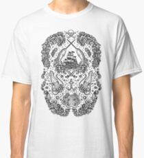 Narwhal Tattoo Print by Teja Jamilla Classic T-Shirt