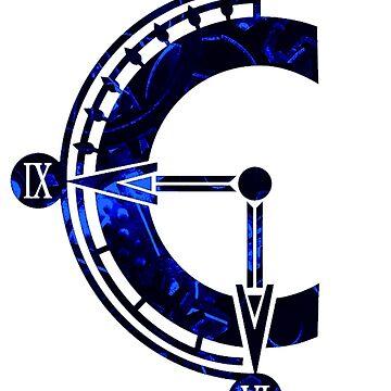 Chrono Cross logo by bahamutdawn