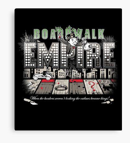 Boardwalk Monopoly Canvas Print