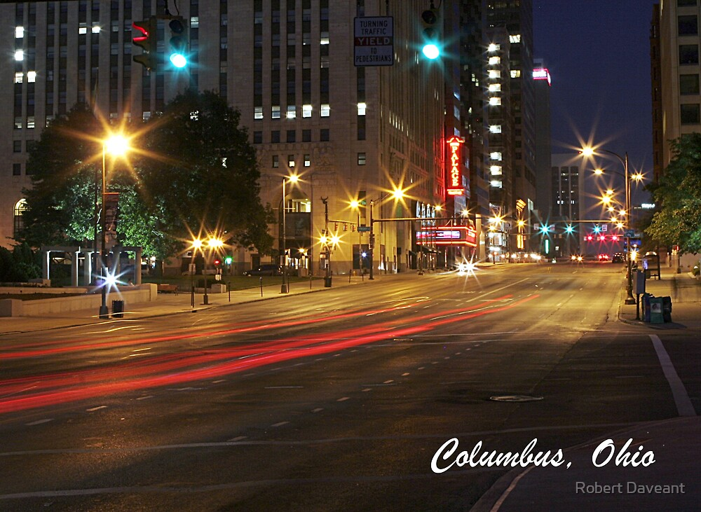 Columbus, Ohio by Robert Daveant