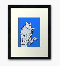 Poorly Drawn Fox sorta well drawn Framed Print