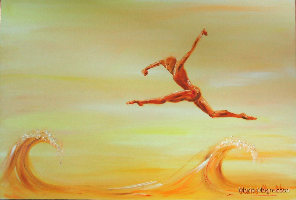 a leap of faith by Marie Magnusson