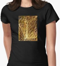 CN Tower in Wood Relief T-Shirt