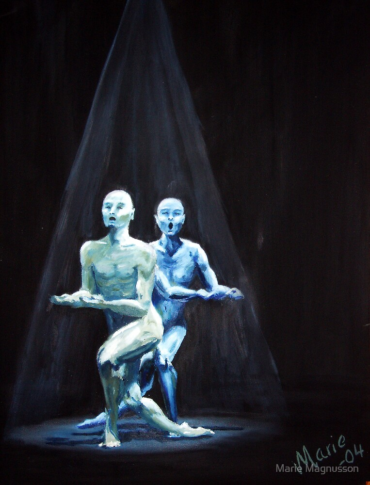 dance yourself blue by Marie Magnusson